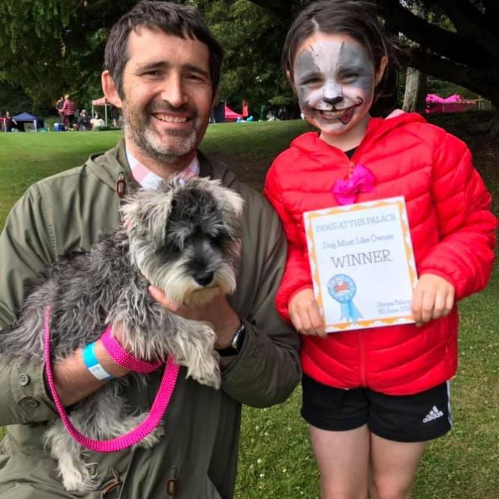 Lottie came first in Dog Most Like Owner and third in Cutest Puppy. 😍 Well Done Lottie! 👏