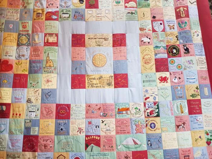 Abernethy Museum- millennium quilt