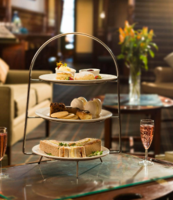 The Huntingtower Hotel just outside of Perth City Centre, offer a delicious and beautifully presented Afternoon Tea.