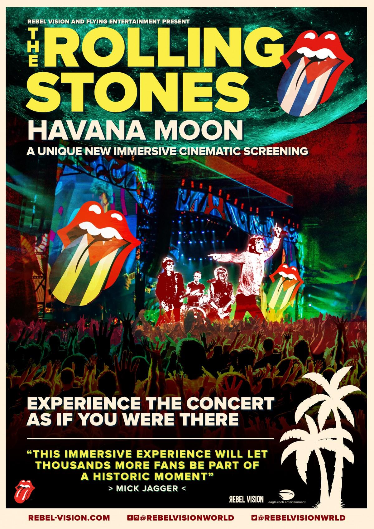 Rolling Stones Havanna Moon