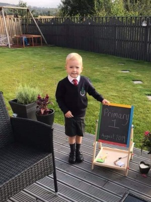 Primary Ones of Perth - Photographs of Primary One Pupils on their First Day of School in Perth & Kinross Schools