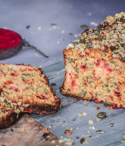 Bake bread at home with this delicious Beetroot and Goats Cheese Bread Recipe