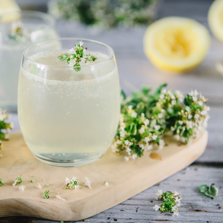 Lemon and Thyme Gin Cocktail - Main image