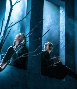 Rona Munro's version of Mary Shelley's Frankenstein is a very modern chiller, with great a set, impeccable performance and evocative sound design.