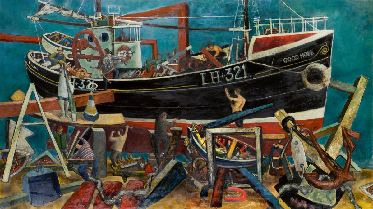 The latest exhibition in Perth Museum and Art Galleries ICONS series celebrates the life of one of the most prolific and acclaimed Scottish artists of his generation, John Bellany.