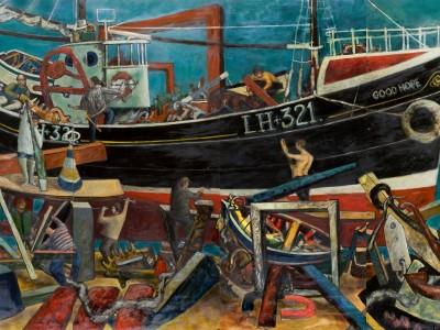 John Bellany Painting in Perth