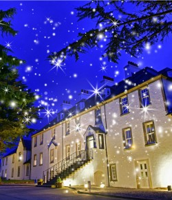 Christmas time at Moness Resort in Highland Perthshire is a very special experience. Join them for a Festive lunch or a Christmas Party Night.