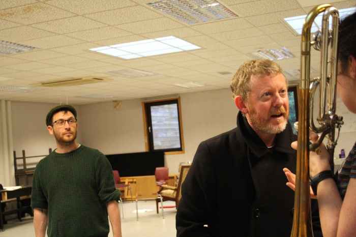 Colin McCredie PFT - Scrooge Rehearsal