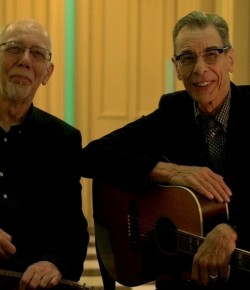 We caught Singer-songwriters Rod Clements and Rab Noakes when they played live at Backstage at The Green Hotel in Kinross.