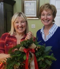 Wreath Making at Scone Palace