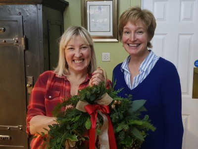 Wreath Making at Scone Palace