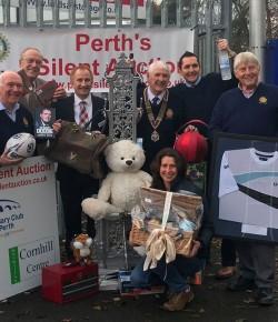 Perth Silent Auction is a Success