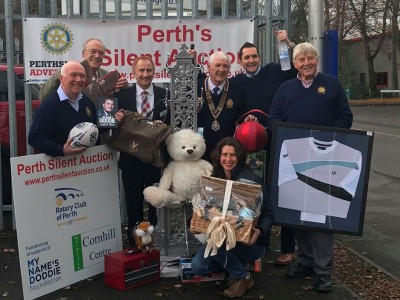 Perth Silent Auction is a Success