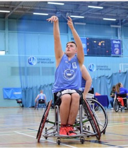 Ben Leitch - Wheelchair Basketball Sensation
