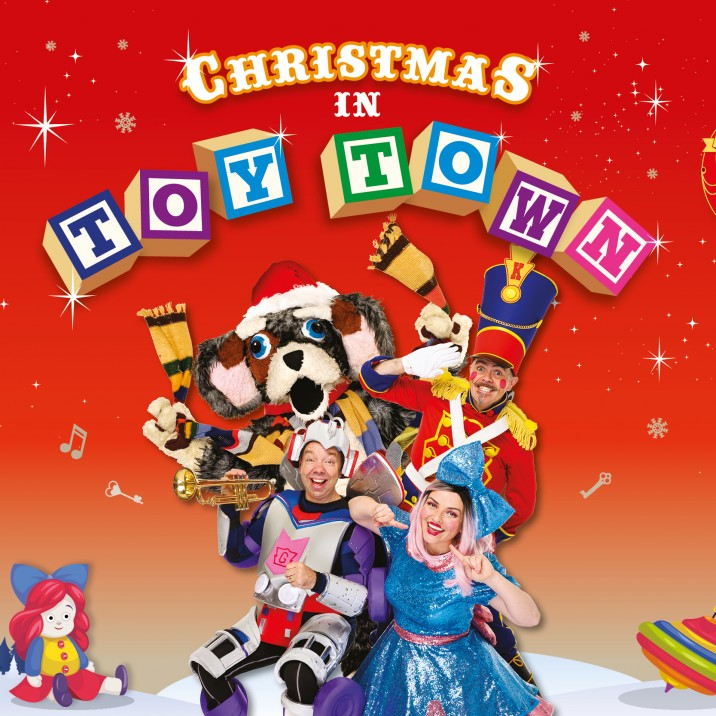 Funbox - Christmas in Toy  Town - Childrens Entertainment Show at Perth Concert Hall, Music, Fun, Games, Live Events in