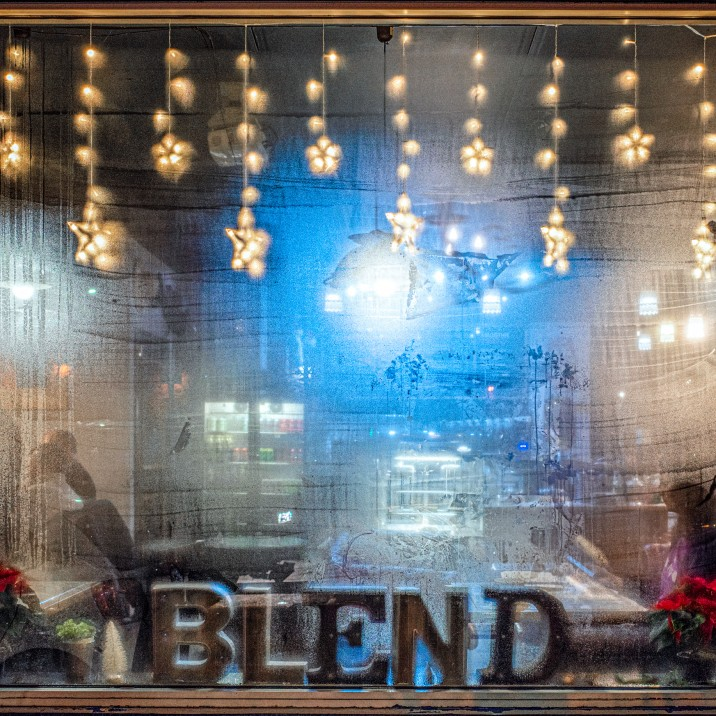 Blend Coffee Lounge is a winner on cold winter nights.