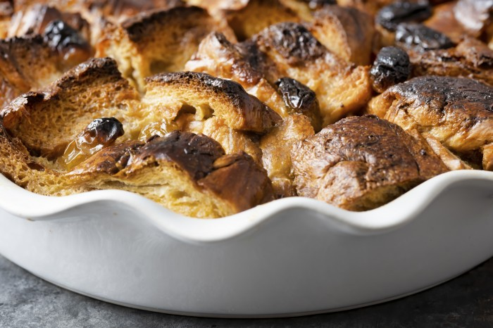 Bread and butter pudding is a childhood favourite for many!