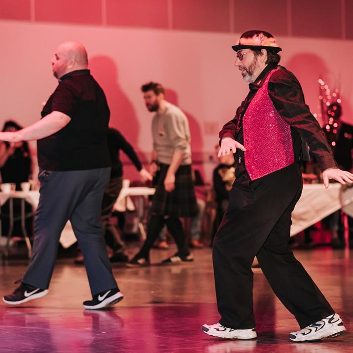LGBTI+ Elders Social Dance Club - Perthshire Community Comes Together, Perthshire Pride, Dancing