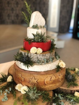 Cheese Wedding Cake from Provender Brown Delicatessen
