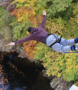 Alzheimer Scotland Sponsored Bungee Jump