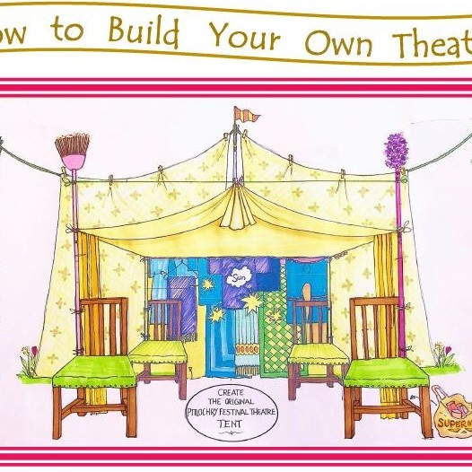 Pitlochry Festival Theatre - How To Build Your Own Theatre illustrated booklet and competition