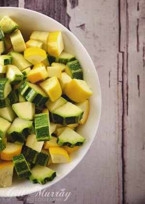 Late Summer Courgette & Garlic Soup